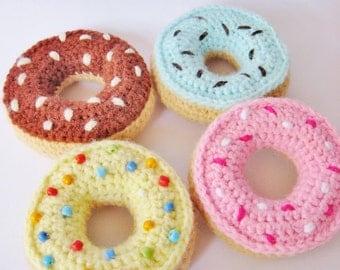 Yummy Donuts - PDF Crochet Pattern