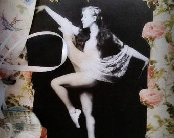 Ephemera Journal handmade vintage