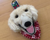 RESERVED LISTING: Balance for Custom, Cream Golden Retriever Items