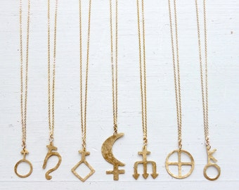 Astrological Glyph//Sacred Symbolism//Astrology + Astronomy//Glyth//Saturn//Neptune//Dark Moon Lilith//Venus//Mars//Chiron//Planet Earth