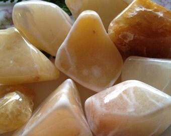 Natural Tumbled Yellow Aventurine    Healing Stones & Crystals, Union, Inner Child/Inner Adult, Golden Aventurine, Canada. Polished Stones
