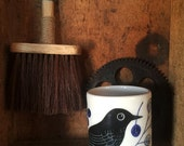 Blackbird on Blue cup