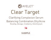 Clear Target Clarifying Complexion Serum, Balancing For Combination, Oily, Acne Prone Skin Vegan, Sample