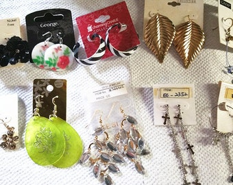 Wholesale Jewelry lots 100 pairs Mixed Style Fashion Earrings