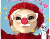 Makies red beanie