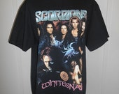 Scorpions Whitesnake Band tour t shirt