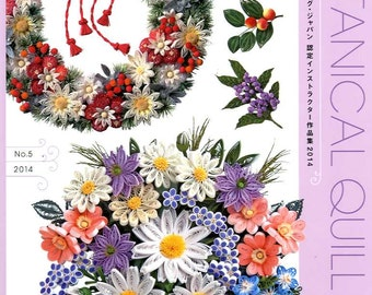 BOTANICAL QUILLING Vol 5 2014- Instructers Works