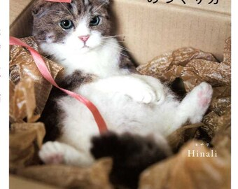 I love to make them mine NEEDLE Felt Realistic CATS - Japanese Craft Book MM