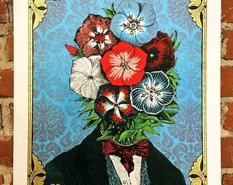Frederick Phlox - Hand-Printed Art Print