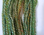 SALE Ivy, handspun wool yarn, 42 g/72 yds