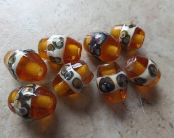 stoursglass  Effetre and Reduction Frit Lampwork Beads