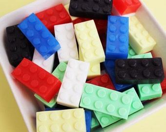 Building Block Soap Set - Kids Soap, Soap Favors, Boys Soap, Watermelon Soap, Novelty Bath, Party Favors, Colorful Soap, Soap, Gift, Novelty