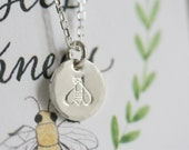 You're the Bee's Knees - Necklace/Card Set - SOLID sterling or 14K GOLD-FILLED