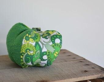 Stuffed Green Bell Pepper Kitchen Decor -Heirloom Garden - Easter Bunny Approved