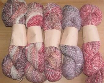 Handspun Yarn, 4 oz.