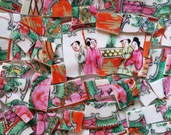 Mosaic Tiles-Oriental Pattern-63 Tiles