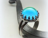 Mood Ring - Sterling Mood Ring - Color Changing Jewelry