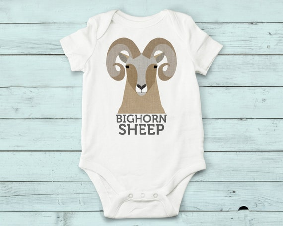 Bighorn Sheep - onesie, baby girl, baby boy, baby gift, baby girl clothes, baby boy clothes, baby, onesies, cute onesies, infant bodysuit