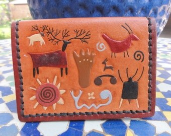 Wallet with Petroglyphs