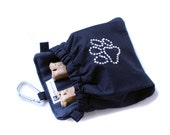 The Pocket 2.0 - Treat and Training Pouch - Rhinestone Paw