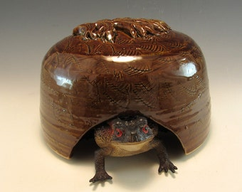 Larger Style Toad House/Toad home/Toad Abode/Hamster House/Garden Art