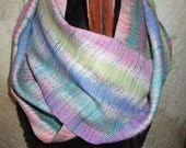 Handwoven Silk Infinity/Circle Scarf