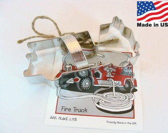 Fire Truck Cookie Cutter by Ann Clark