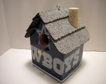Dallas Cowboys  License Plate Birdhouse