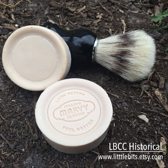 Simple, Natural 1930s Makeup Guide 1930s Shaving Soap- Marvy $3.00 AT vintagedancer.com