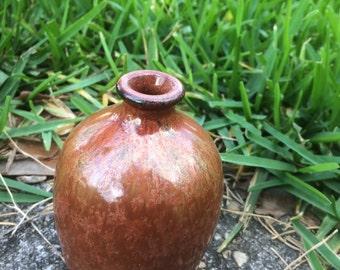 Luster Scape Bud Vase