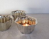 Vintage Baking Molds, Kaiser Set of 4 Fluted Baking Cups,