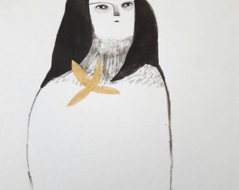 Ink painting number 2 - Original painting