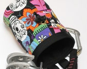 Day of the Dead, Skulls Hand Crafted Chalk Bag