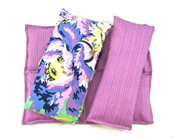 Natural Healing Heat Packs- Neck Wrap, Back Relief Heat Pack, Hot Cold Therapy, Aromatherapy,Natural Heat Pad, Floral