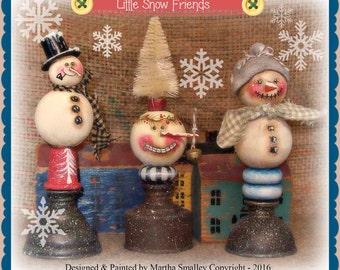 Apple Tree Cottage Original Design E Pattern - Little Snow Friends