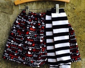 Girls Valentine's Day Skirt and Leg Warmer Set - I LOVE You - Baby, Toddler, Big Kid Sizes - Birthday Gift - Photo Shoots - Party Outfit