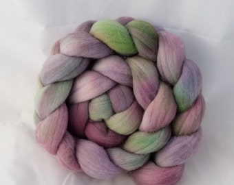 Merino Top - Violets in the Grass 3.7oz