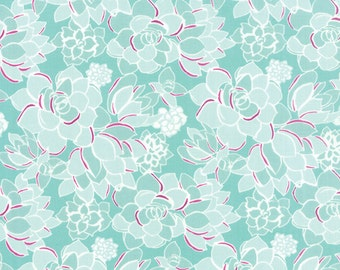 Fabric by the Yard, Quilting Fabric, Canyon fabric by Kate Spain for Moda Fabric, Fabric Shoppe, Succulent in Agave. Choose the Cut