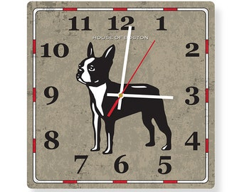 Special Edition: House of Boston Terrier Square Clock