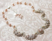 Reserved for Alicia - Balance Payment for Custom Bridal Jewelry Set