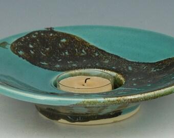 Candle holder, incense burner 25 porcelain