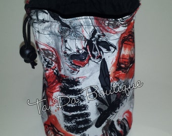 Ant Man Round Bottom Drawstring / Dice Bag