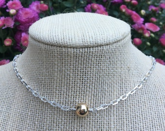 Sterling silver Cape Cod Styled Necklace