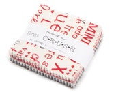 SALE 2 Packs - 2.5 inch MINI charm pack FIRST Crush Moda candy Fabric by Sweetwater