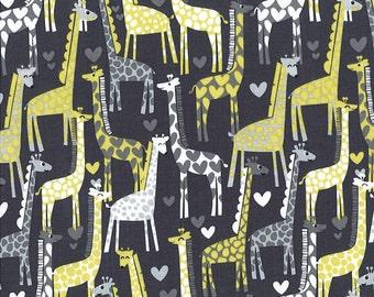 Giraffe Love Reversible Shopping Cart Cover - Fits ALL Carts