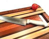 Personalized Cutting Board - Engraved Cutting Board, Custom Cutting Board, Wedding Gift, Housewarming Gift, Anniversary Gift, Valentine Gift