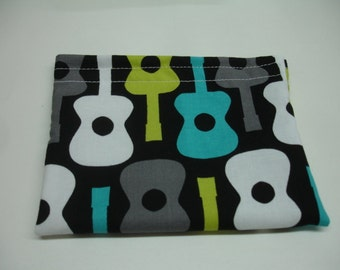 Groovy Guitars Reusable Snack Bag READY TO SHIP