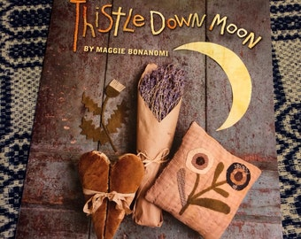 Thistle Down Moon Wool Project book by Maggie Bonanomi