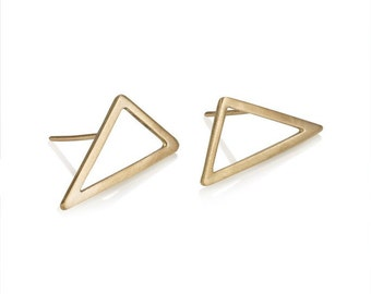 Lorena earrings, Triangle Earrings