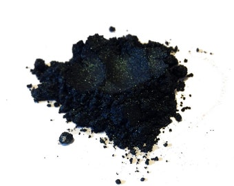 Mineral Eye Liner - Black Emerald (5 gram jar)